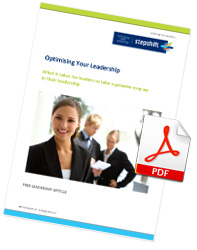 Free Leadership Article: Optimising Your Leadership